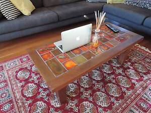 70's Style Tiled Top Coffee Table Wollongong Wollongong Area Preview