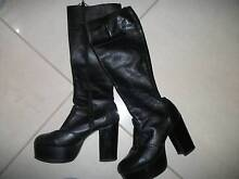 leather boots size 7 Howrah Clarence Area Preview
