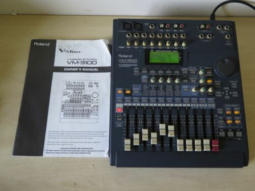 Roland VM-3100 digital mixing workstation with FX module / PERFECT