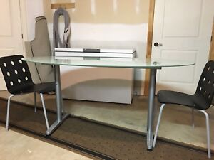 IKEA glass table/desk