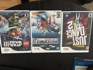 Jeux pour wii/games for wii 5$ chacun/each
