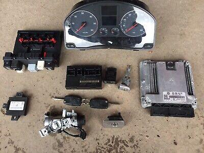 Mk5 Golf 2.0 Tdi Bkd ECU , Locks, Keys, Clocks, Ccm ,ignition Barrel