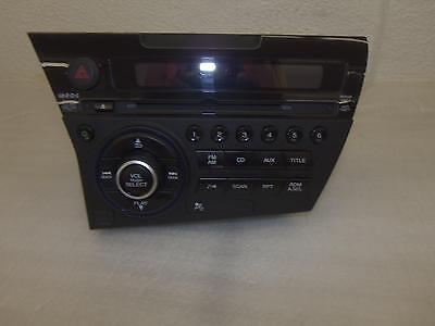 R15101 HONDA CRZ 2001-2012 OEM RADIO CD AUX  39100-SZT-C21 COME  WITH THE VIN #