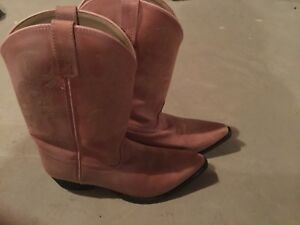 Cowgirl boots, kid's size 5.5