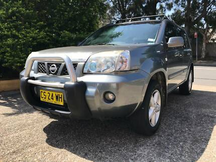 2006 Nissan X-trail SUV 4WD 3 months rego and roof racks and roof Botany Botany Bay Area Preview