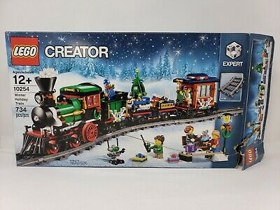 LEGO CREATOR EXPERT 10254 Winter Holiday Train - New in Opened/Damaged Box
