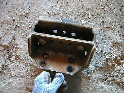 Massey Ferguson Super 90 Diesel Tractor Mf Slide In Tongue Drawbar Hitch Anchor