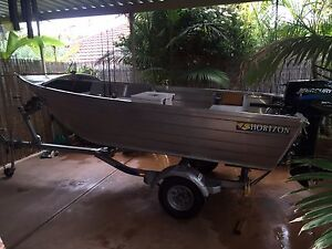 Horizon 375 Angler w/- 25hp Mercury Sea Pro Motor on a Dunbier Trailer Murray Bridge Murray Bridge Area Preview