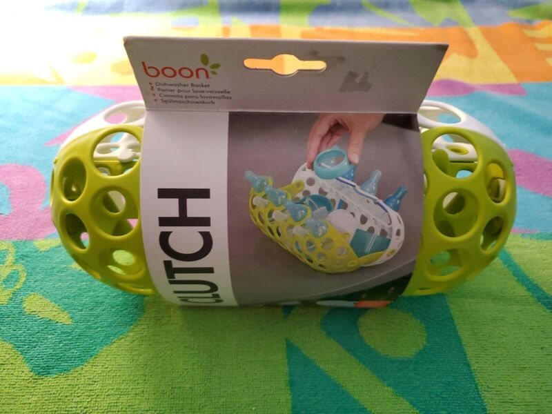 NEW BOON Clutch Baby Bottle Cleaning Basket Parts Diswasher Washer Sippy Cup