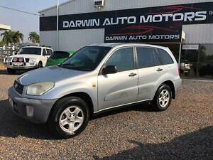 2003 Toyota RAV4 Edge Manual 4x4 Durack Palmerston Area Preview