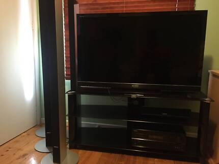 """46"""" Sony Bravia LCD 3DTV & Stand Yarraville Maribyrnong Area Preview"""