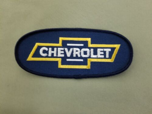 Chevrolet embroidered iron on patch.