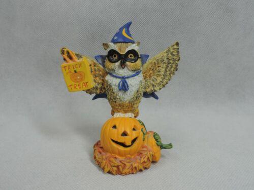 Hamilton Collection Lil Whoots Happy Owloween Halloween Figure Rare 1998