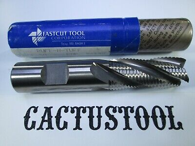 New Fastcut 34 Roughing Cobalt End Mill M42 Hssco 4 Flute Milling Rougher Tool