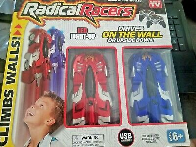 !NEW! Radical Racers - Remote Controlled Wall-Climbing Car - As Seen on TV