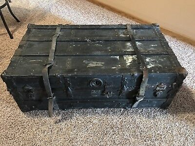 1800 1899 Chest Trunk Coffee Table Vatican