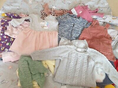 Baby Girl Clothes Bundle - 6-9 months 29items
