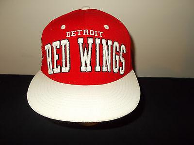 Zephyr Nhl Hut (Detroit Red Wings Groß Riesig Logo Zephyr NHL Snapback Hockey Hut Sku14)
