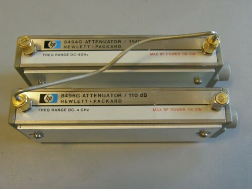 HP/Agilent_8494G+8496G: Programmable Step Attenuator 121dB