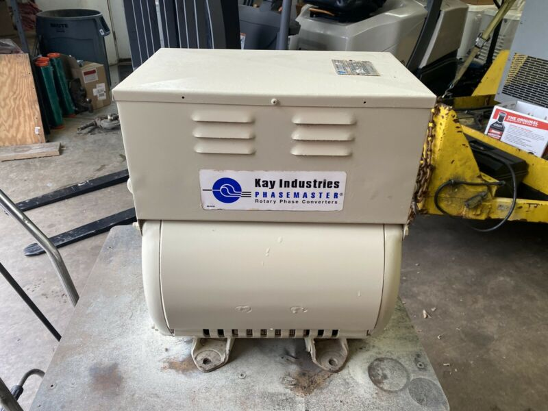 20HP Rotary Phase Converter  Shipping Included In 48 States Only..