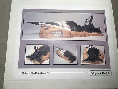 Skyhook Models Beneath the Planet of the Apes spaceship crash resin model kit
