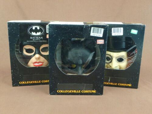 HALLOWEEN COSTUME SET BATMAN CATWOMAN PENGUIN WITH MASK CHILDRENS COLLEGEVILLE
