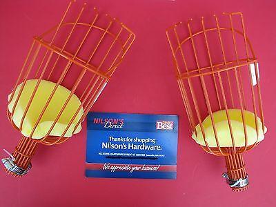 2 Pk Orange Apple Plum Pear Fruit Picker Basket M3