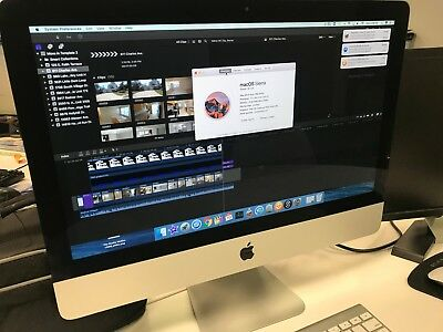 Apple Imac Mf883ll A 21 5  2014 Intel I5 1 4Ghz 8Gb 500Gb Desktop A1418