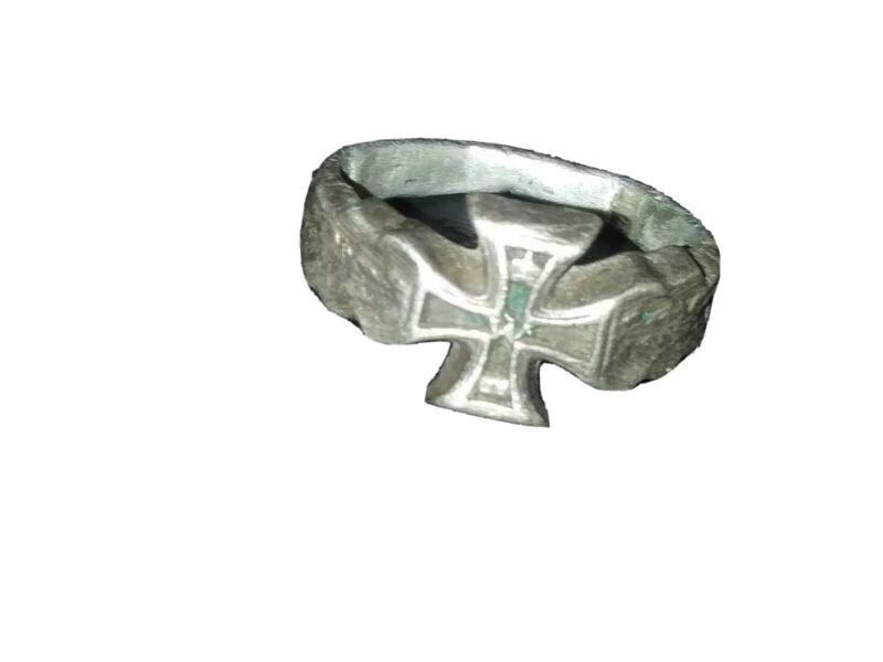 German WW2 Iron Cross 1st Class Ring