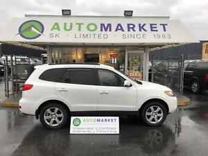 2009 Hyundai Santa Fe LTD. AWD LEATHER! FINANCE IT!