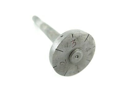 Original South Bend 13 14-12 16 Lathe Thread Dial Indicator Shaft And Dial