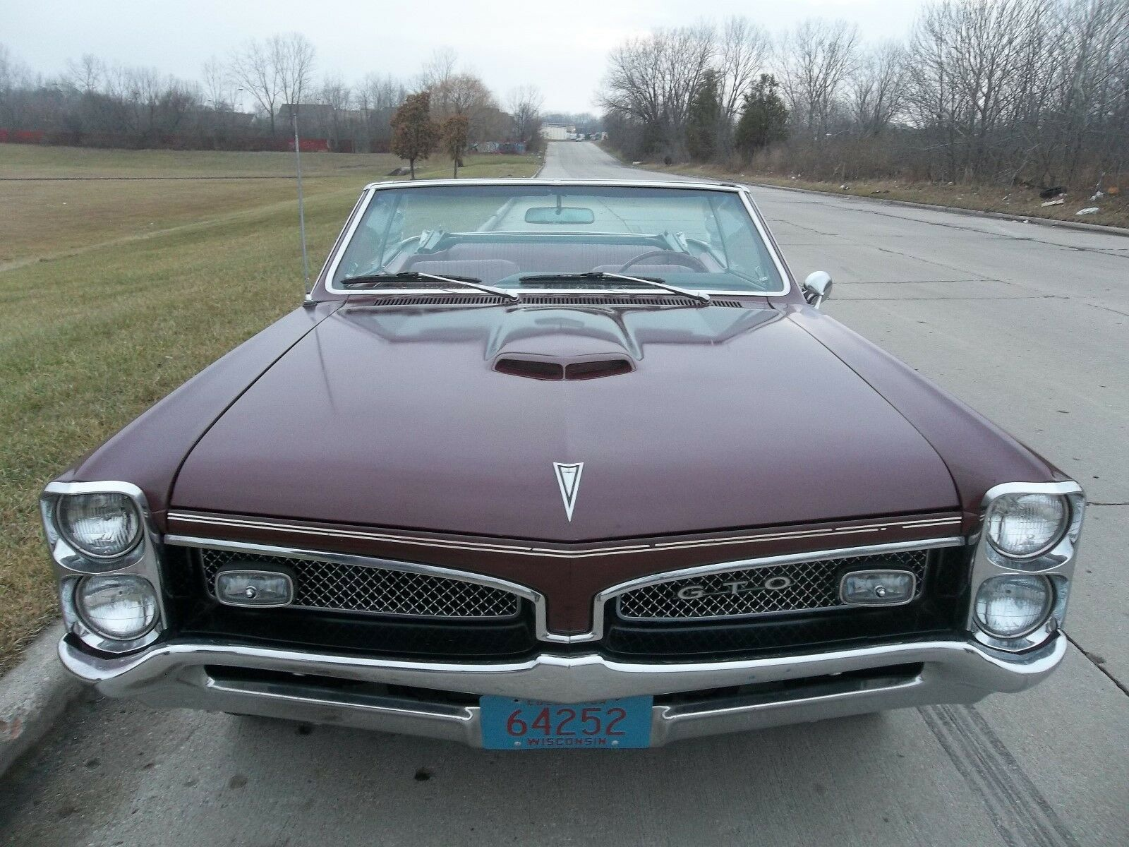 1967 Pontiac GTO Convertible with Factory Hurst Dual-Gate Shifter 1967 Pontiac GTO Convertible
