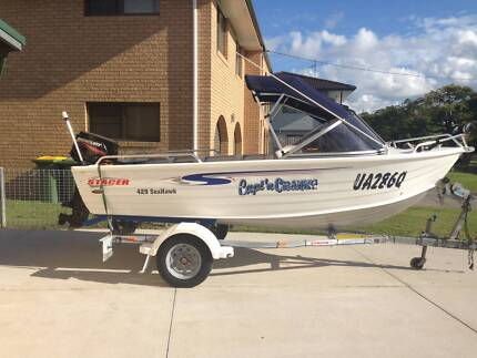 Stacer Seahawk 4.3m 2010