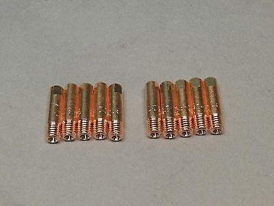 10 .035 199388 Spoolmate 250 3545 Mig Welder Contact Tips Tubes Miller Parts