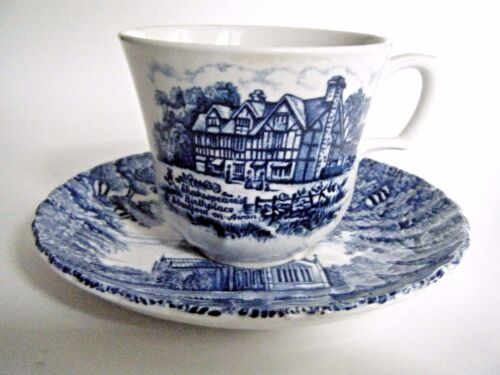 Royal Essex Stoneware Cup & Saucer Shakespear