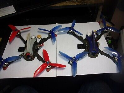 "2 Two Shocker Quadcopter Racing Drones 5"" BNF SPEKTRUM Racerstar Foxeer TBS RDQ"