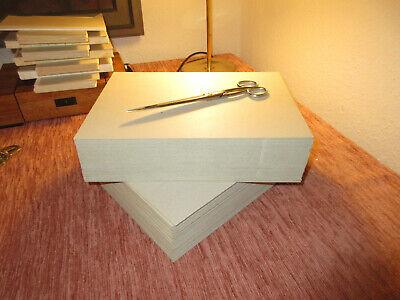 Buchbinder-Pappe-//Graupappe-2,0 mm für DIN A5 10 Stück