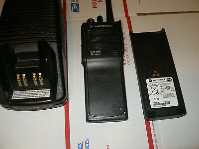 Motorola Mts2000 Vhf 136-174mhz Radio Pkg Wfree Programming H01kdd9pw1bn