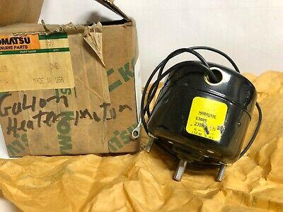 Komatsu Maradyne 5305 Heater Motor 12 Volt  10681