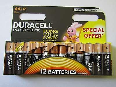 36x AA Plus Power Alkaline Batterie Duracell AR2469 Duracell Plus Power Batterie