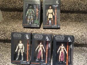Star wars Black series hard to find figures