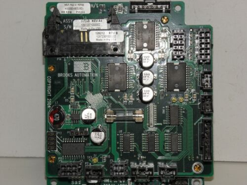 Brooks Automation 117252 with 117250 mounted board assembly