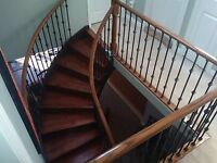 Custom stairs and railings installation