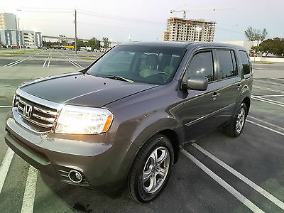 2013 honda pilot ex l suv 4 door leather sunroof low miles best offer. Black Bedroom Furniture Sets. Home Design Ideas