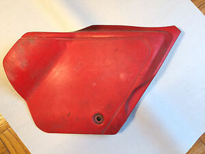 1981 1980 Honda XL250 XR250 Right Sidecover