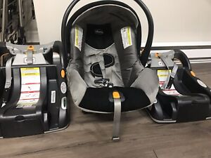 Chicco KeyFit 30 Infant Car Seat, Orion + 1 car seat bases