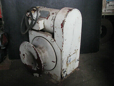 Telsta Capstan Winch Gearbox W 208v440v Motor For Cablebucket Truck