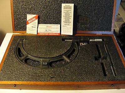 Starrett 733xfl Electronic Micrometer New