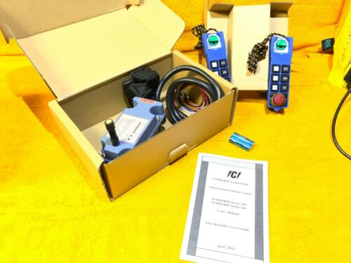 NEW    INMOTION CONTROLS 260 SERIES INDUSTRIAL REMOTE CONTROLLER CHANNEL 042