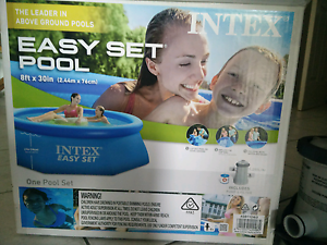 Intex easy set pool (2.44m x 76cm) Stafford Brisbane North West Preview
